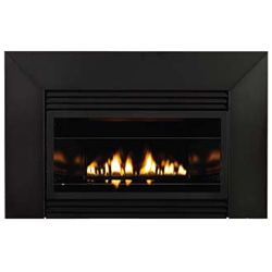 34 Loft Series Vent Free Fireplace Insert with Metal Frame and Remote (Electronic Ignition) - Empire