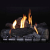 "30"" Wildwood Refractory Outdoor Logs, 30"" Harmony Vent Free Outdoor Stainless Steel Burner (Millivolt/Pilot) - Empire"