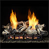 "18"" Beachcomber Burncrete Refractory Logs with 18"" Natural Blaze Total Signature Command Vent Free Burner (Electronic Ignition) - Monessen"