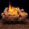 "24"" Mountain Cedar Refractory Logs, 24"" PH Vent Free Burner (Manual) - Monessen"
