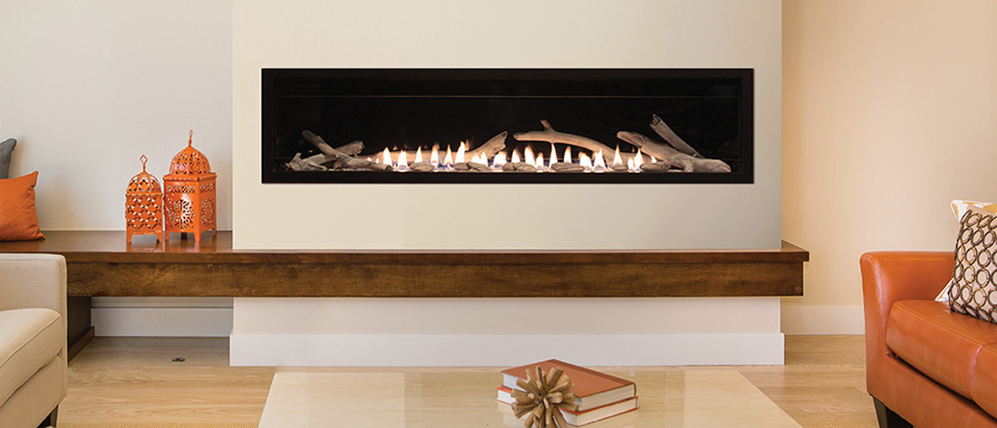 Contemporary Vent Free Fireplaces