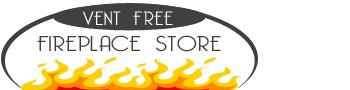 Vent Free Fireplace Store Logo